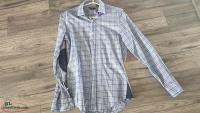HUGO BOSS SLIM FIT SHIRT Size 15 MENS