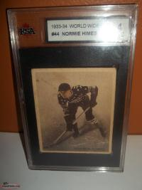 1933- 34 Normie Himes . Great condition for its age and graded 4 .