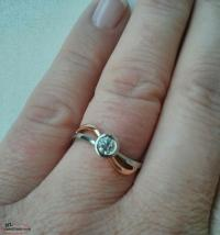 Engagement Ring For Sale 'Contour Wave' design