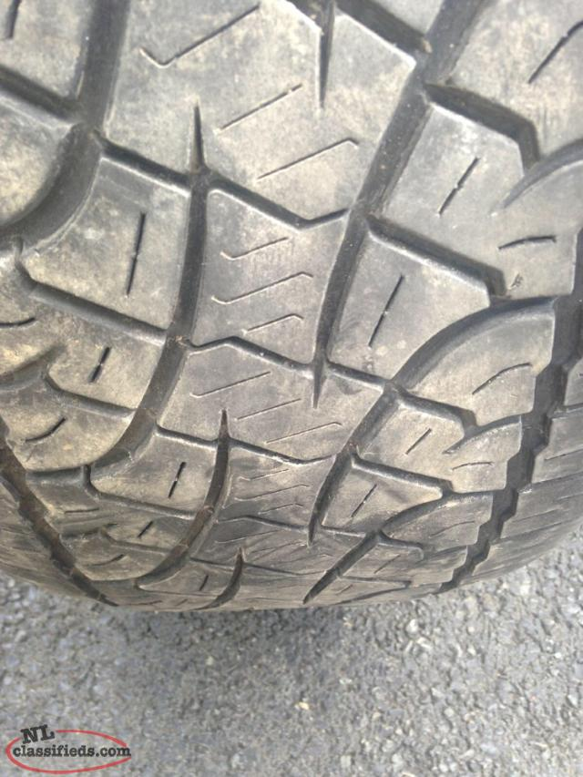 Set Of Four 20 Inch Pirelli Tires