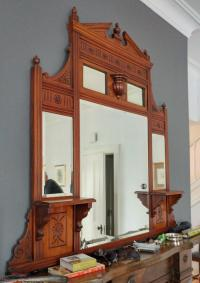 Antique Very Unique Wall Hanging Mirror