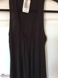 NWT. Black Maxi Dress Size M