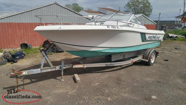 19ft Proline Boat