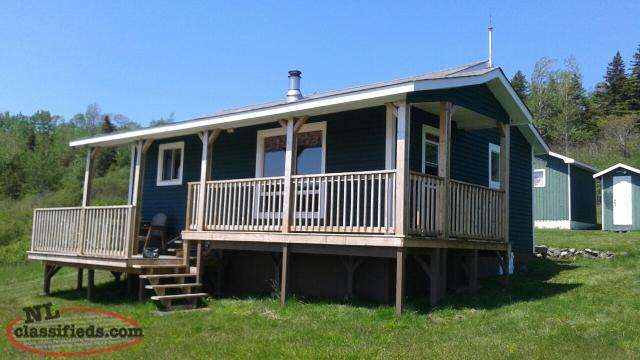 2 Bedroom Cabin on Oceanfront Lot