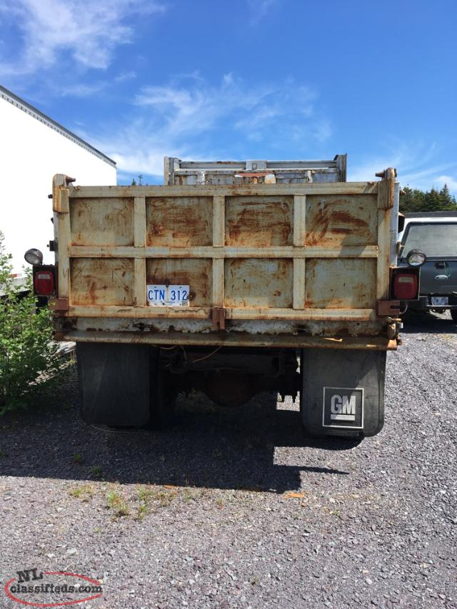 1988 Chev Dump Truck: Trades Considered