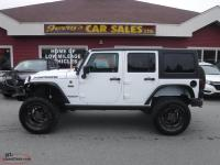 2016 Jeep Wrangler Unlimited Sahara 75th Anniversary 4x4 LIFTED 20kms $279 B/W