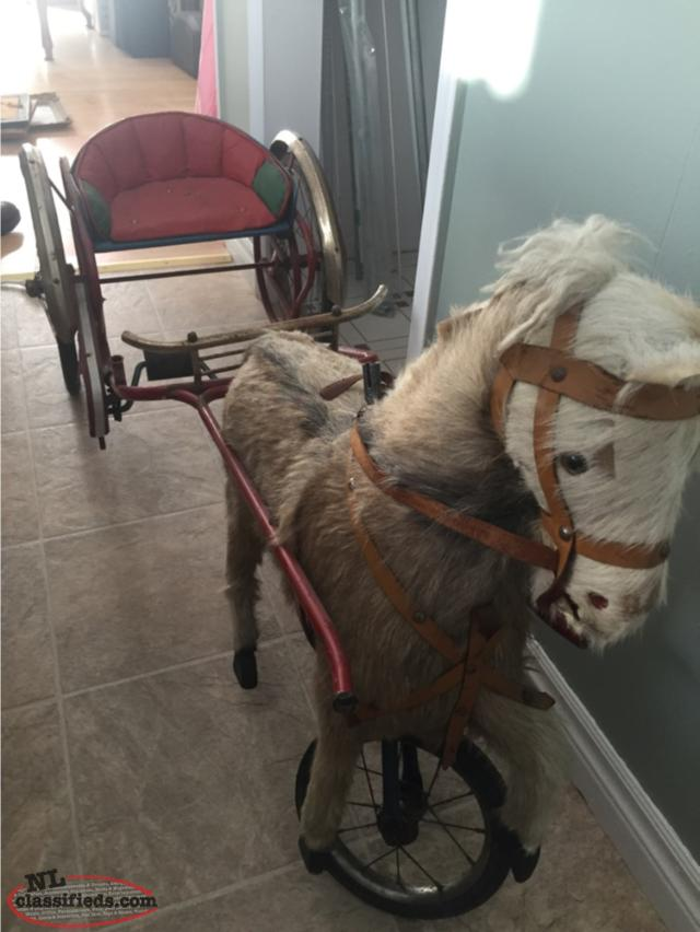 Horse Pedal Carriage