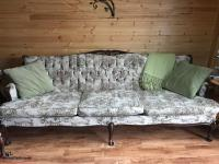 French Prvincial sofa and chair
