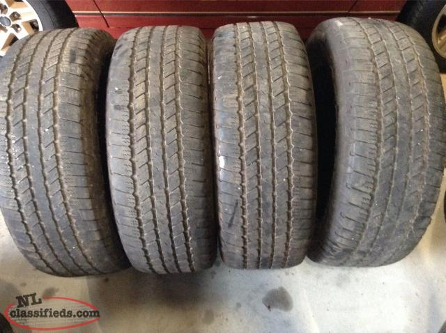 275/55R20 Goodyear Wrangler SR-A All Season Tires