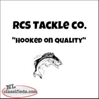 RCS Tackle Co. - New Double Gold Hex Reed Runner Spinners