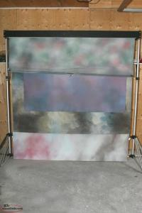 4 unit backdrop stand