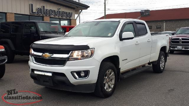 2015 Chevrolet Colorado LT 4X4 ***Powertrain Warranty up to 160,000km!***
