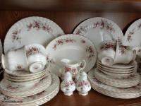 Royal Albert-Bone China-Lavender Rose-8 piece setting