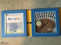 New Acrylic paint set