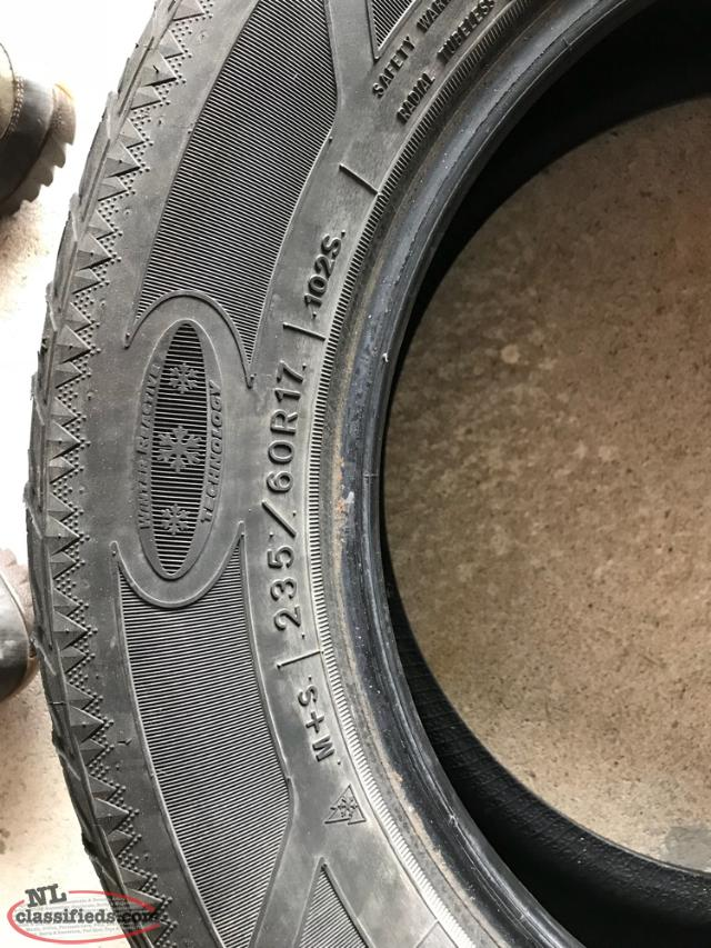 4 Goodyear Winter Tires