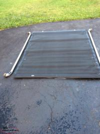 Tonneau cover and bed rails