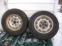 2 - 225/75/R16 Mud and snow tires