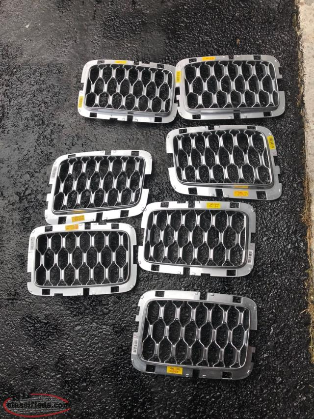 Jeep Grand Cherokee Grille Inserts