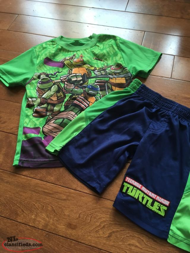 Size 4 Ninja Turtles Suit