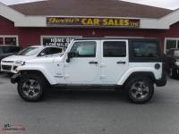 2017 Jeep Wrangler Unlimited Sahara 4x4 Only 16kms!! $255 B/W