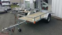 "N&N 51""X99"" Galvanized UTILITY TRAILER NON-CURRENT"