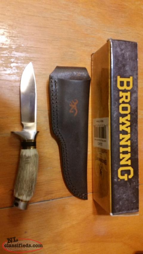 Browning hunting knife for sale