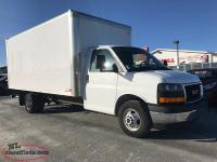 2017 GMC SAVANA 4500 CUBE VAN WITH 21,000KMS