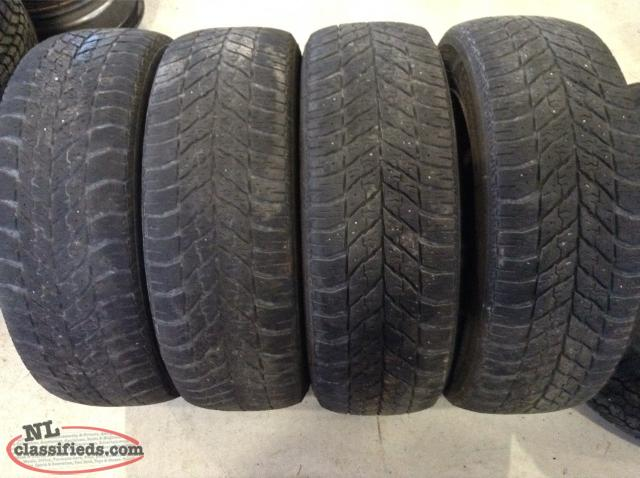 P215/60R16 Goodyear Ultra Grip Tires