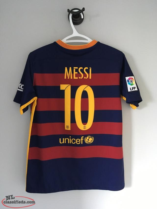 watch da9b5 9580b Authentic Fc Barcelona Lionel Messi 2015-2016 Home Jersey - St. John's,  Newfoundland Labrador | NL Classifieds
