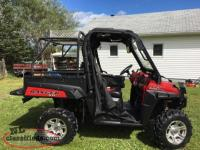 2010 800 Polaris Ranger XP Special Edition