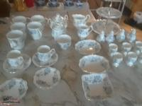 !!!!!!!!!New Price !!!!107 pieces of Royal Albert China-Silver maple