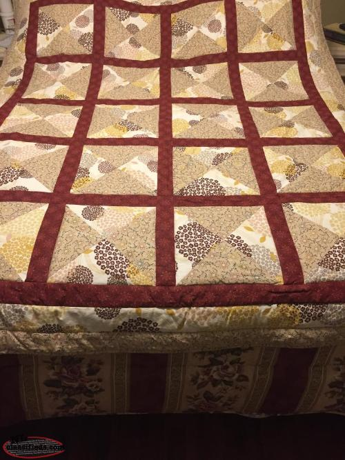 New hand made quilt