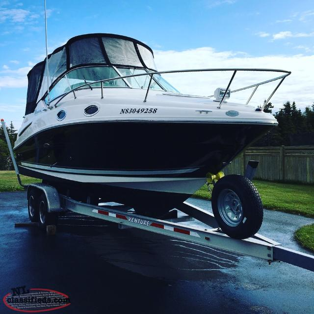 2007 Searay Sundancer 240 Cabin Cruiser