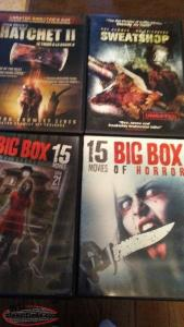 DVD'S (horror movies)
