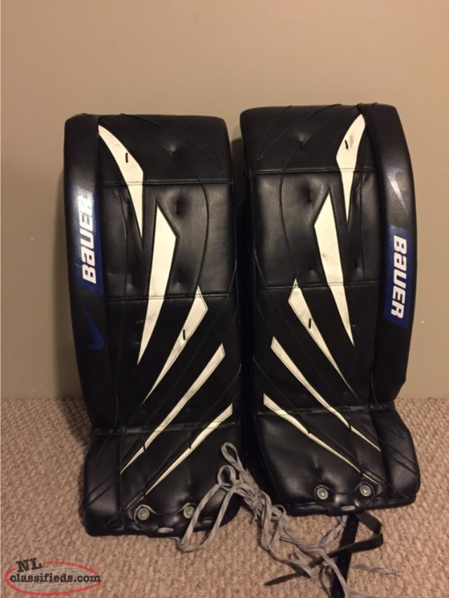 For Sale Bauer Goalie Pads Corner Brook Newfoundland Labrador