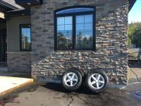 "Tires and Rims 17"" Fast Rims and Yokohama tires 245/65R17 winter tires"