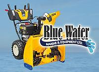 Cub Cadet snowblowers are now in stock at Blue Water Marine!