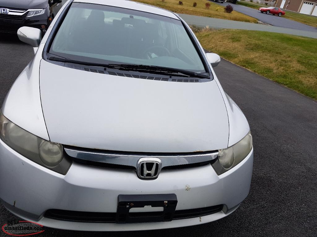 2006 Honda Civic Low Km Portugal Cove Newfoundland Labrador Nl