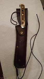 Staghorn Hunting Knife, Puma Bowie, new