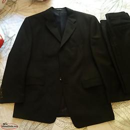 Men's suit of designer clothes