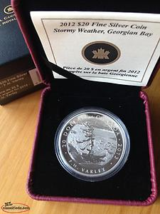 Stormy Weather Silver Coin