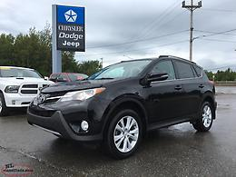 2013 TOYOTA RAV4 LIMITED AWD - FULLY LOADED; $190 BI-WEEKLY 60 MONTHS!!!