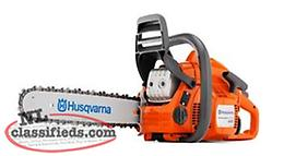 NEW Husqvarna Chainsaws Starting @ $279 Plus Tax