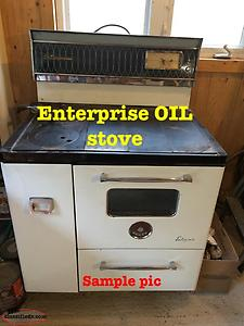 (((REDUCED)))Vintage Oil Stove