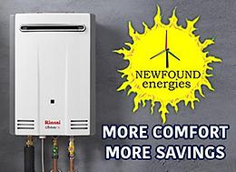 Direct Vent Wall Furnaces and Hot Water ON DEMAND!