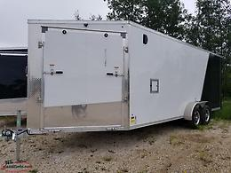 2018 7' X 20'+5'V Enclosed Trailer