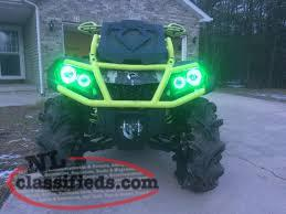 Green Far Mudding Halos, 2013+ G2 Outlander