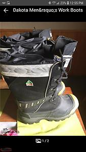 steel toe Dakota winter boots