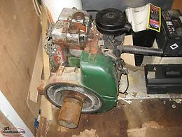 Lister diesel engine & parts for saw mill