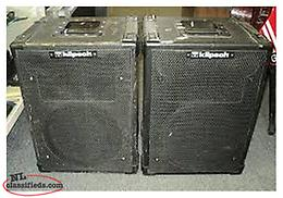 Wanted to Buy Vintage Klipsch speakers from the 1980's or older.